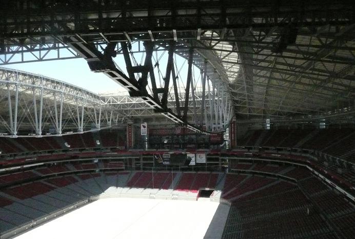 University Of Phoenix Stadium Inspection Hardesty Amp Hanover